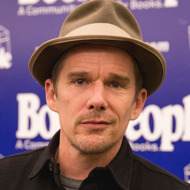 "Ethan Hawke Book Signing For ""Rules For A Knight"""
