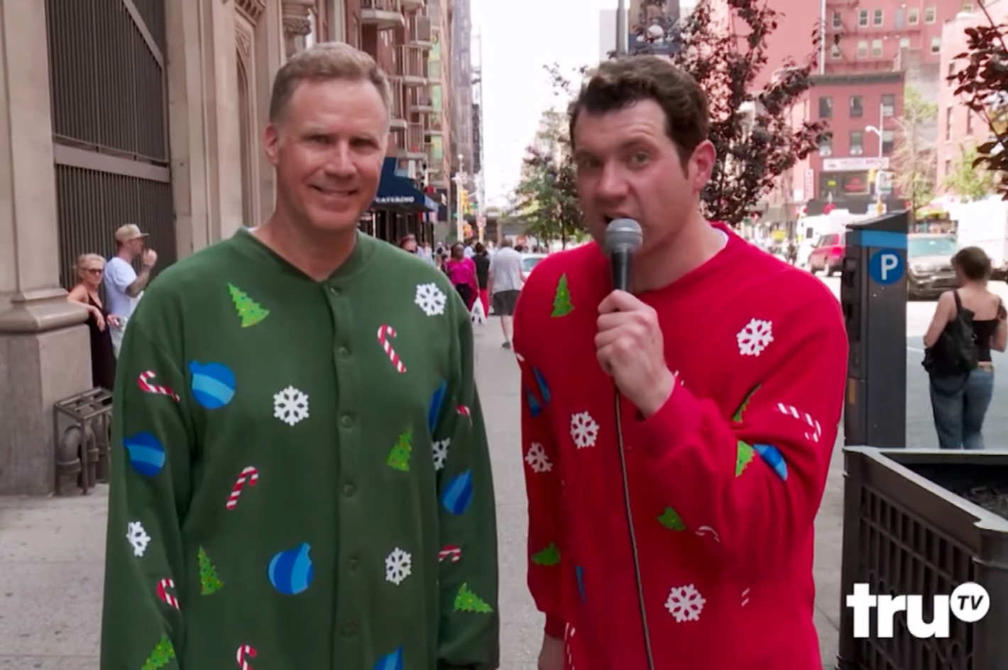 Will Ferrell And Billy Eichner Screaming At Strangers Is Your New