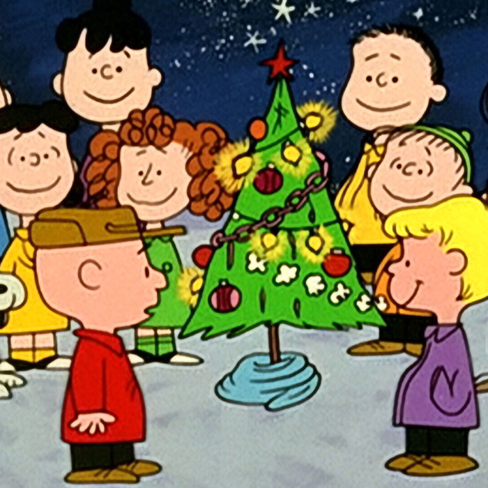 a charlie brown christmas image - Snoopy Christmas Song