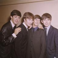 1964, Beatles, L-R: Paul McCartney, John Lennon,Ringo Starr,
