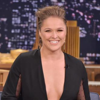 Ronda Rousey Visits