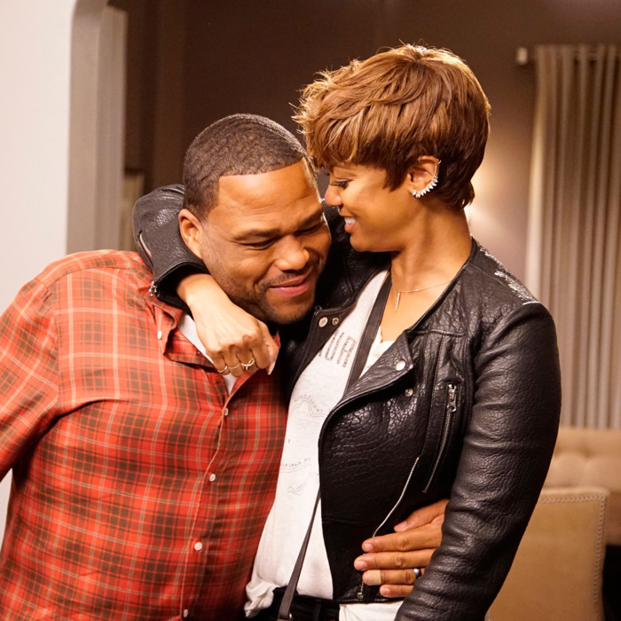 ANTHONY ANDERSON, TYRA BANKS