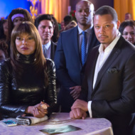 "EMPIRE: L-R: Taraji P. Henson and Terrence Howard in the ""Et Tu, Brute?"" episode of EMPIRE airing Wednesday, Dec. 2 (9:00-10:00 PM ET/PT) on FOX. ©2015 Fox Broadcasting Co. Cr: Chuck Hodes/FOX."