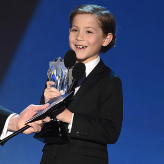 Actor Jacob Tremblay accepts Best Young Actor award onstage during the Critics' Choice Awards on January 17, 2016.