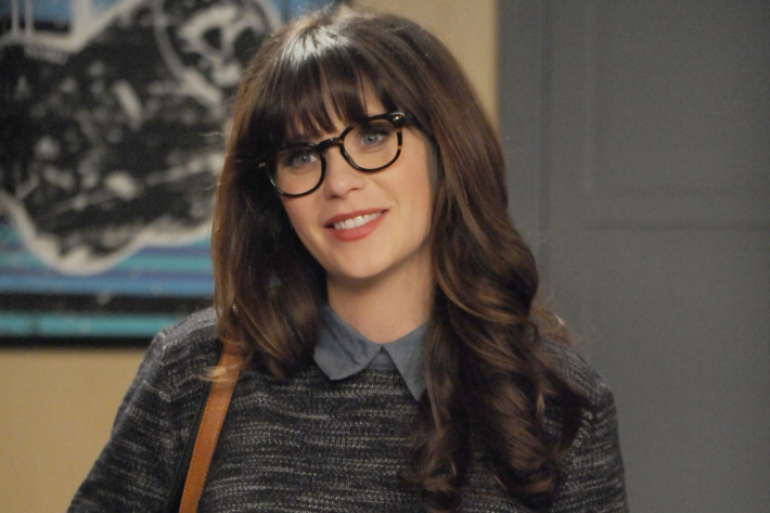 "NEW GIRL:  Zooey Deschanel in the ""Jury Duty"" episode of NEW GIRL airing Tuesday, Jan. 19 (8:00-8:30 PM ET/PT) on FOX.  ©2015 Fox Broadcasting Co.  Cr:  Ray Mickshaw/FOX"
