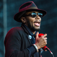 Actor and Hip Hop artist Mos Def performs at the Way out West festival