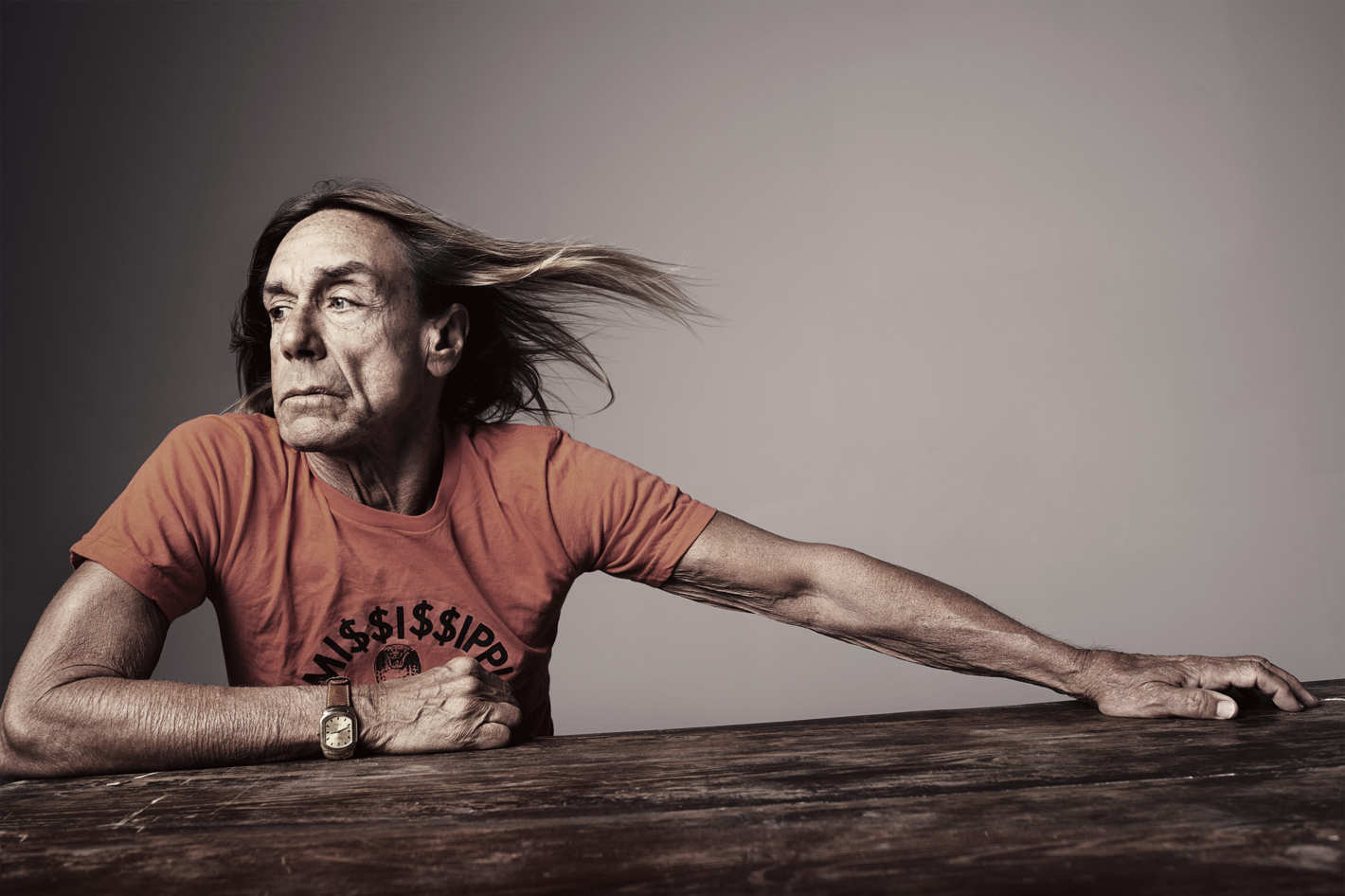 68-year-old Iggy Pop did not hesitate to become a nude model 03/01/2016 27