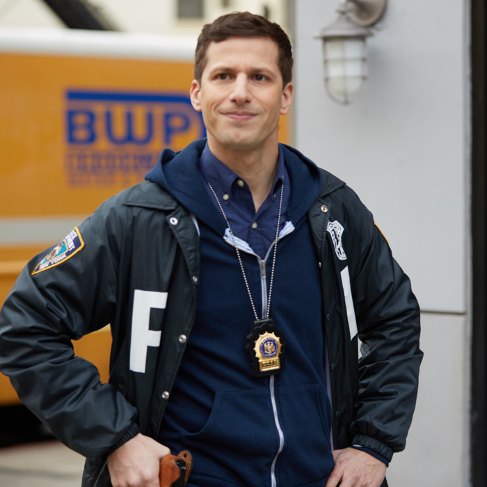 BROOKLYN NINE-NINE: Andy Samberg in the