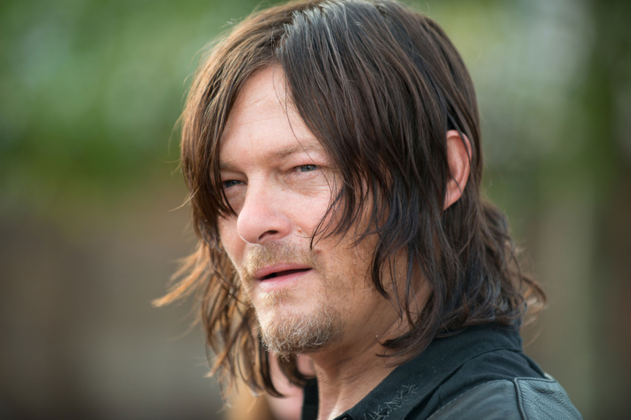 Norman Reedus as Daryl Dixon - The Walking Dead _ Season 6, Episode 11 - Photo Credit: Gene Page/AMC