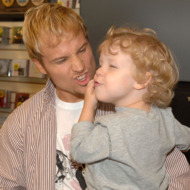 Brian Littrell Release Party for New Album