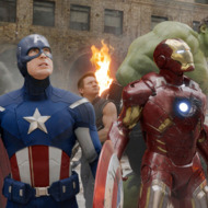 "Publicity photo from the film ""The Avengers"""