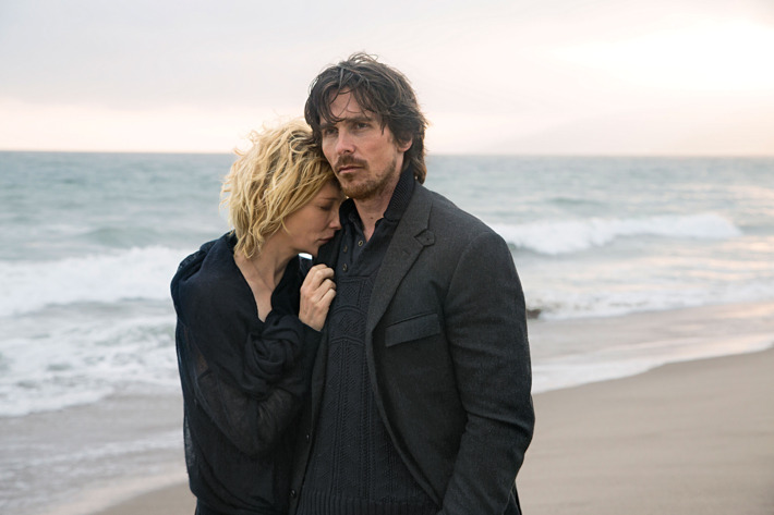 KoC-03840_R(l to r) Cate Blanchett stars as 'Nancy' and Christian Bale as 'Rick' in Terrence Malick's drama KNIGHT OF CUPS, a Broad Green Pictures release.Credit: Melinda Sue Gordon / Broad Green Pictures