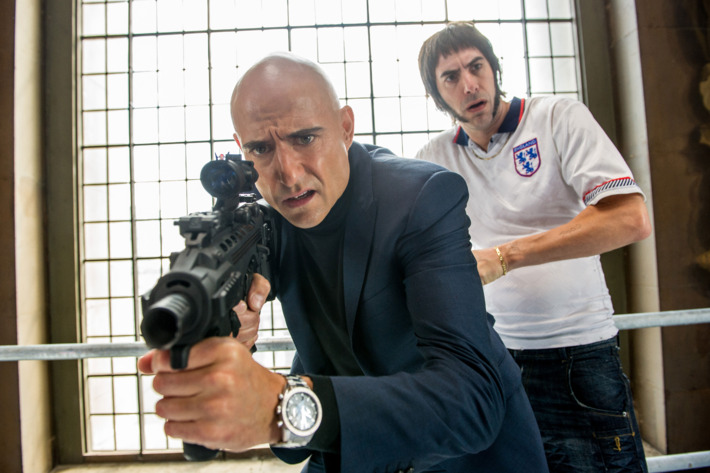 Sacha Baron Cohen;Mark Strong