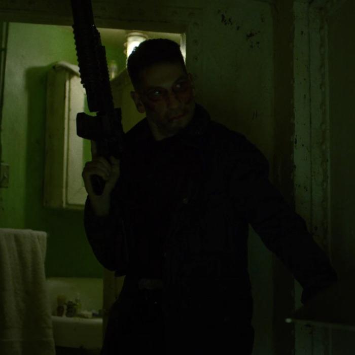 Jon Bernthal as Frank Castle.