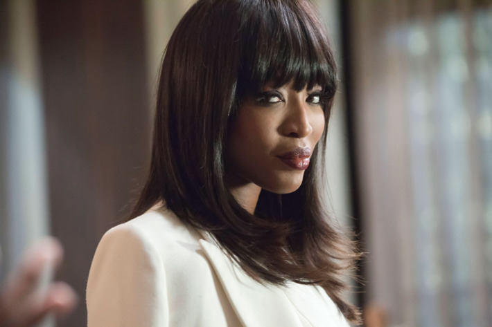 "EMPIRE: Pictured: Guest star Naomi Campbell in the ""Death Will Have His Way"" spring premiere episode of EMPIRE airing Wednesday, March 30 (9:00-10:00 PM ET/PT) on FOX. ©2016 Fox Broadcasting Co. Cr: Chuck Hodes/FOX"