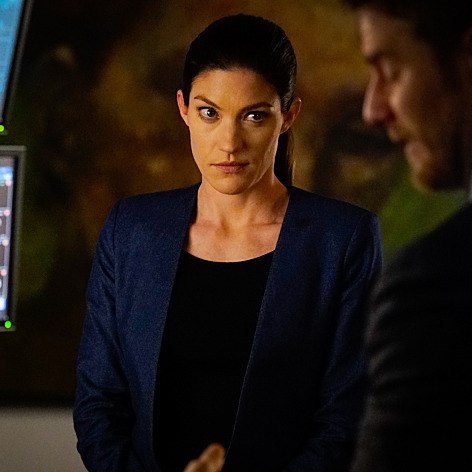 Jennifer Carpenter as Rebecca.