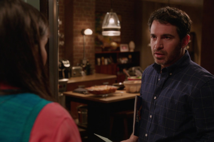 Mindy Kaling as Mindy, Chris Messina as Danny.