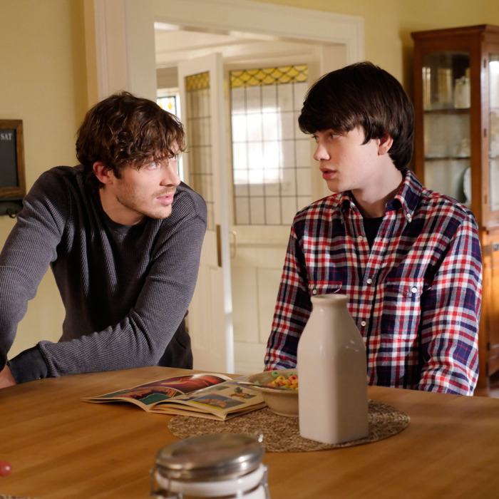 ZACH GILFORD, LIAM JAMES