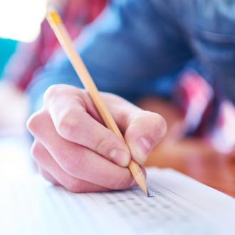 Multiple-choice exam