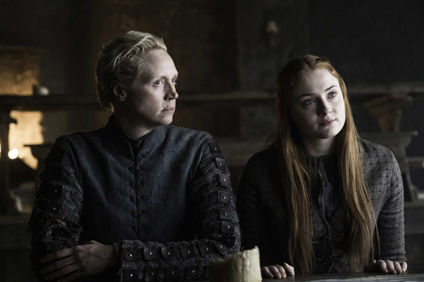 Gwendoline Christie Nude Pictures throughout game of thrones recap: holding the door
