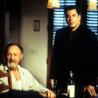 Gene Hackman And John Travolta In 'Get Shorty