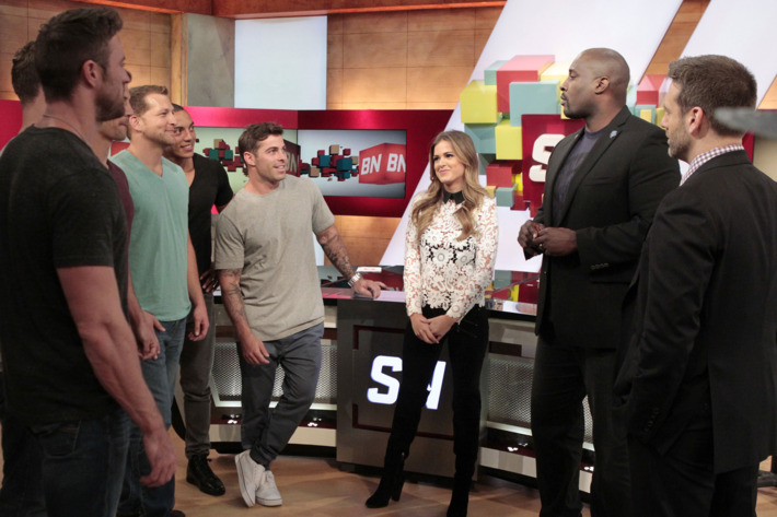 CHAD, NICK B., CHRISTIAN, ALEX, JOJO FLETCHER, MARCELLUS WILEY, MAX KELLERMAN