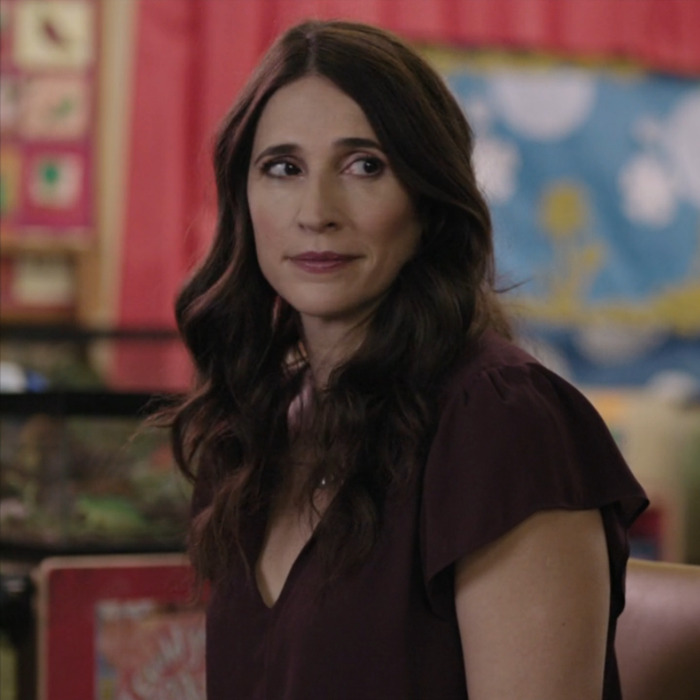 Michaela Watkins as Valerie, Tara Lynne Barr as Laura.