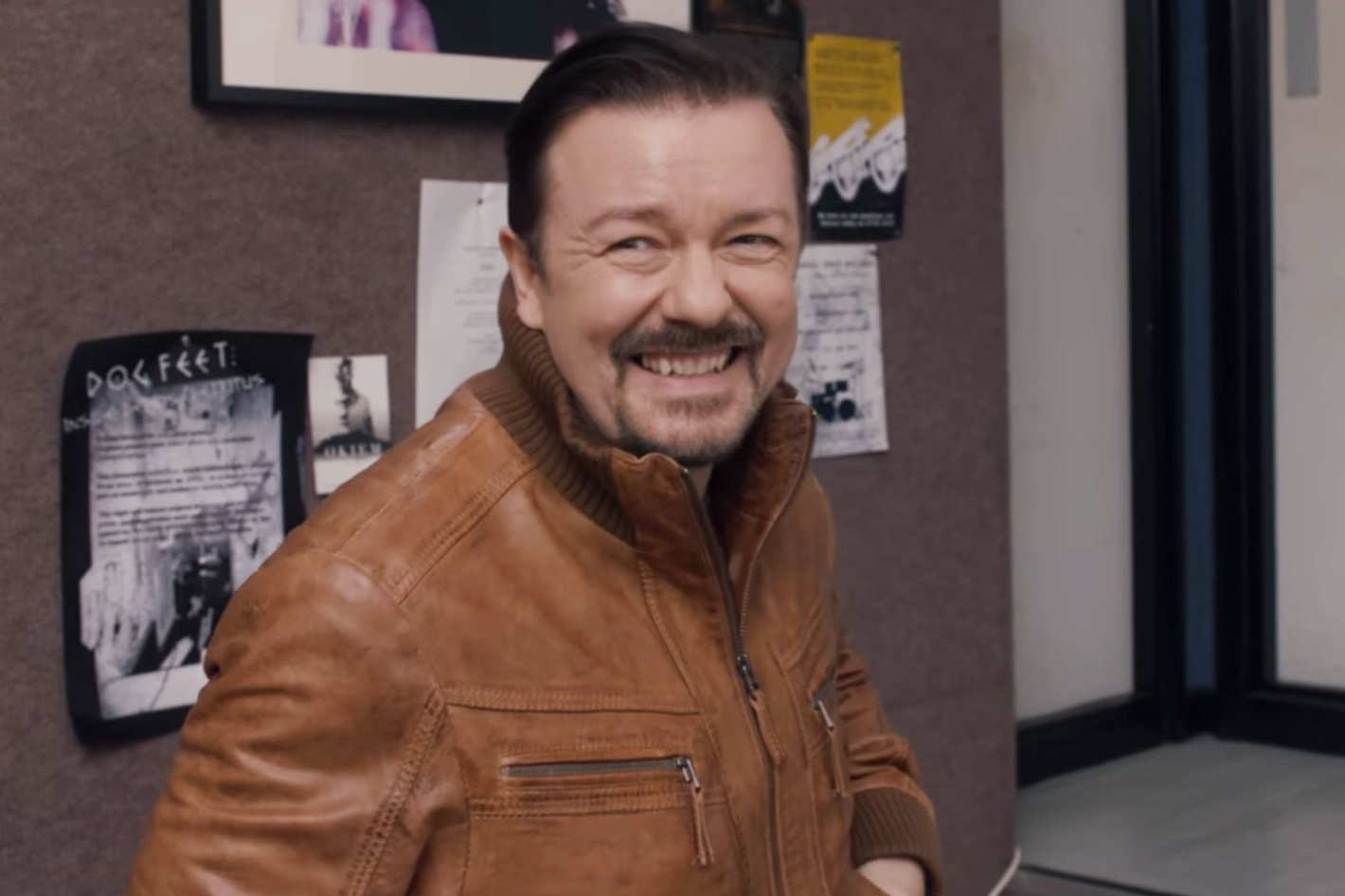 5ab0a018491154 David Brent  Life on the Road Trailer  Probably Too Funky