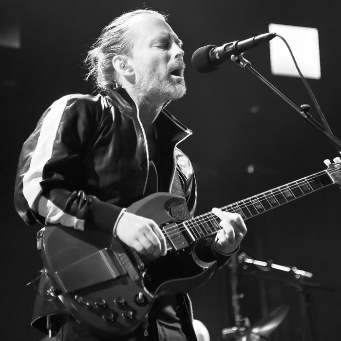 Radiohead Performs at Madison Square Garden