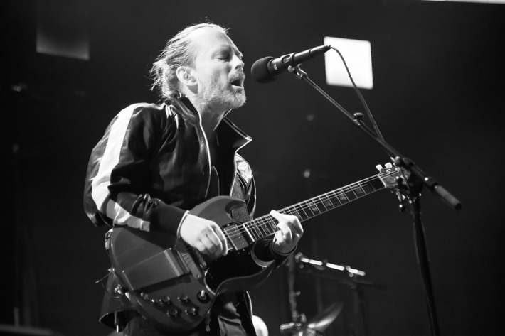 Radiohead Performs at Madison Square Garden