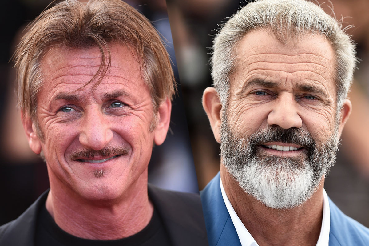 Sean Penn Will Be the Madman to Mel Gibson's Professor in The