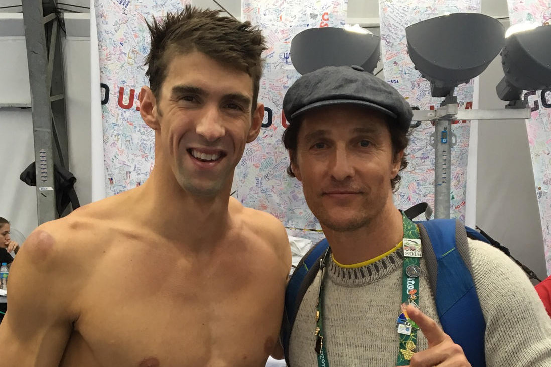 Michael Phelps Supplants Matthew McConaughey 10 Years From Now as ...