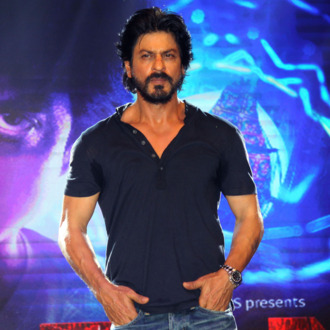 Indian Bollywood actor Shah Rukh Khan