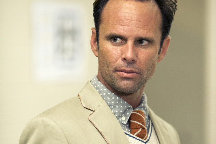 Walton Goggins as Lee Russell.