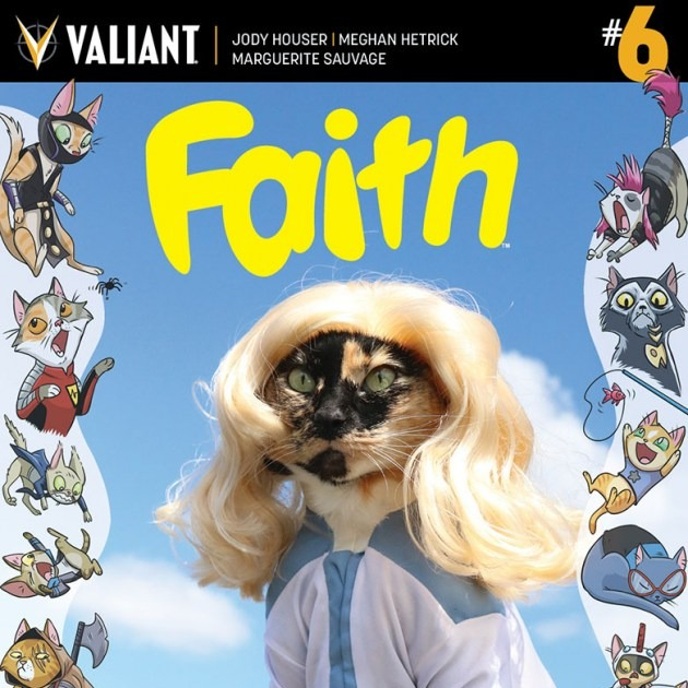 valiant releases cat cosplay comics covers which is possibly the
