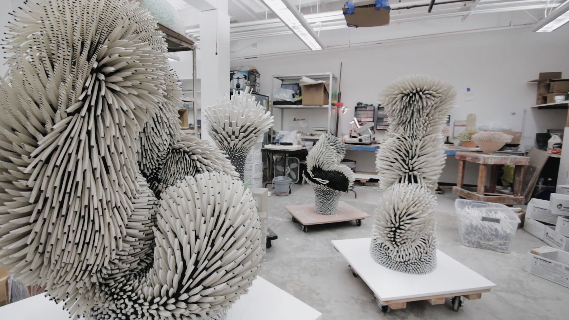 These Intricate Sculptures Are Handcrafted From Thousands of