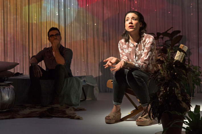 Dramaturgy by Oded LittmanDesign & Cinematography by Aya ZaigerMusic by Gai Sherf & Rona KenanLighting design by Adi ShimronyPuppetry and hand-painted miniature sets combine with live filmmaking and projected video feeds, as a Lilliputian universe is c