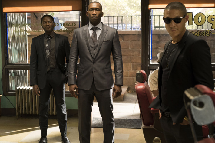 Warner Miller as Tone, Mahershala Ali as Cottonmouth, Theo Rossi as Shades.