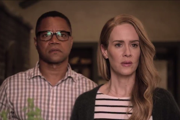 Cuba Gooding Jr. as Matt, Sarah Paulson as Shelby.