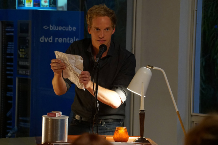 "YOU'RE THE WORST -- ""The Only Thing That Helps"" -- Episode 307 (Airs Wednesday, October 12, 10:00 pm e/p -- Pictured: Chris Geere as Jimmy Shive-Overly. CR: Byron Cohen/FX"