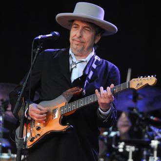 US legend Bob Dylan performs on stage du