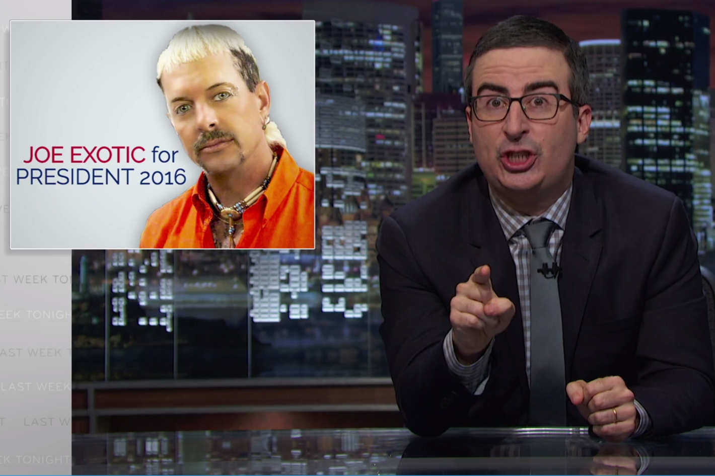 John Oliver Appreciates Your Desire To Vote For A 3rd Party Candidate But Not Your 3rd Party Options