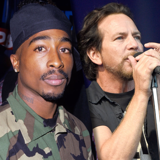 Image result for Tupac and Pearl Jam