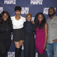 """""""The Color Purple"""" Broadway Cast Photo Call"""