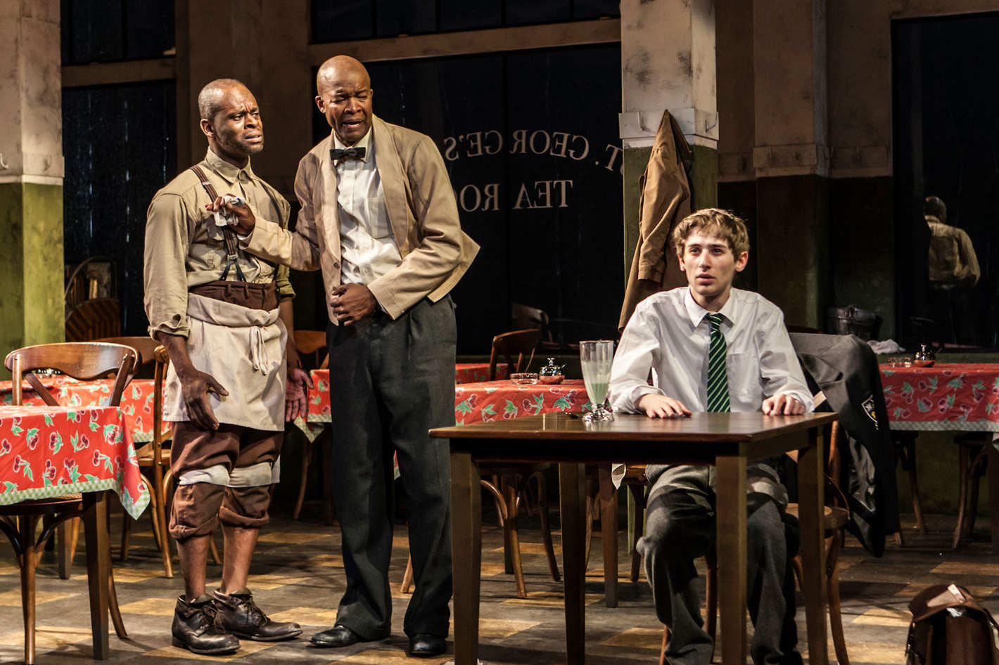 theater review the brutal divisions of master harold and the boys