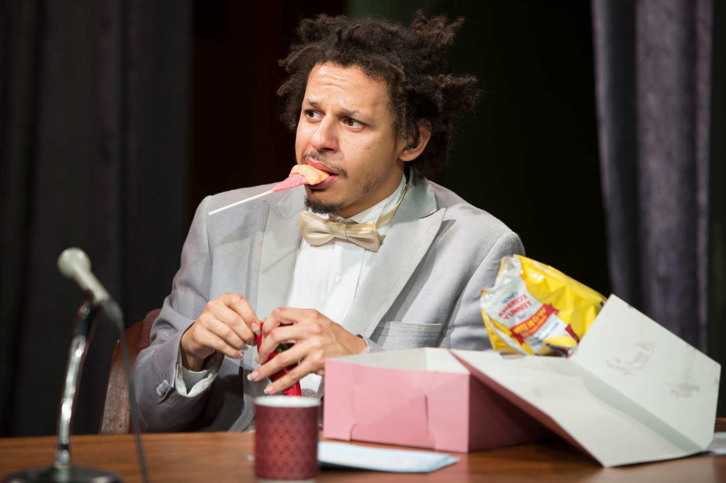 the eric andre show was the only late show weird enough for 2016