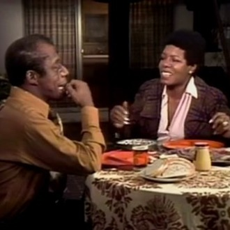 you need this clip of maya angelou and james baldwin right now