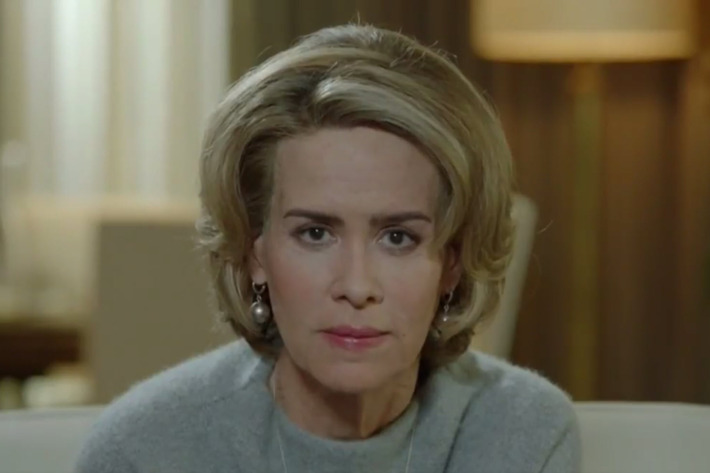 Sarah Paulson as Lana Winters.