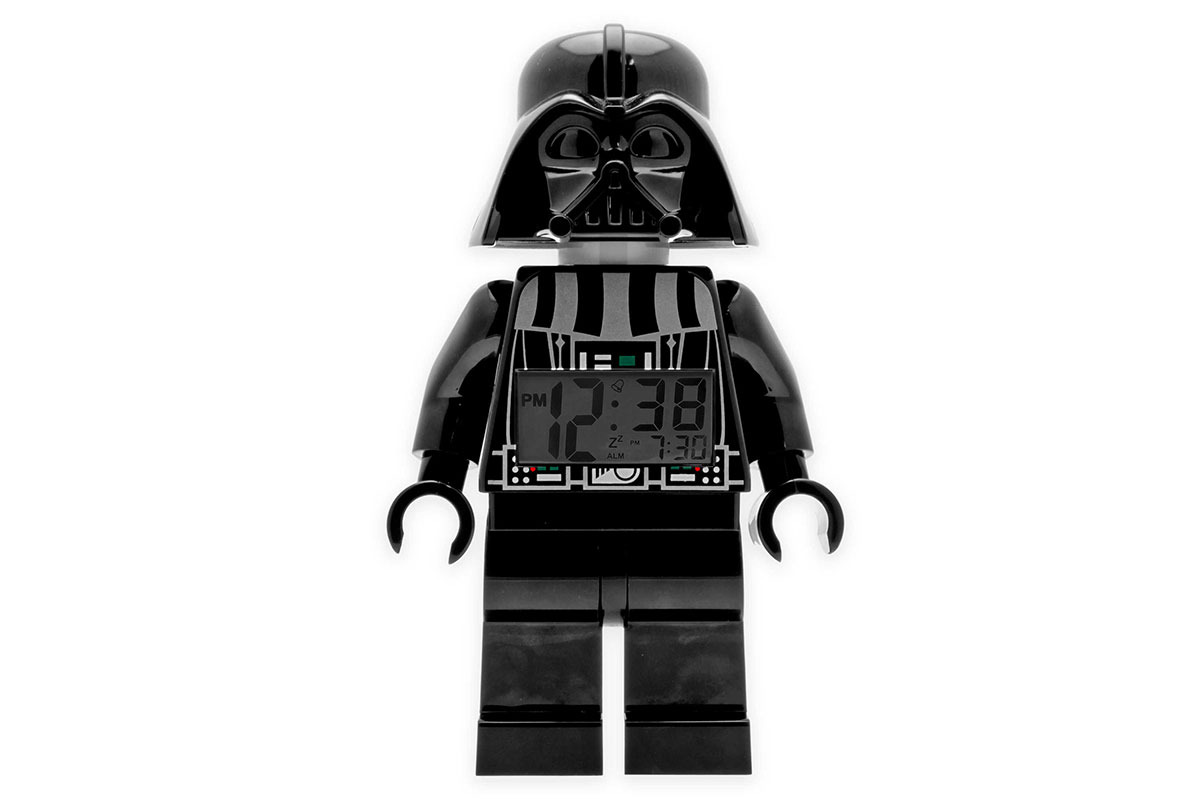 LEGO Darth Vader Mini Light-Up Alarm Clock