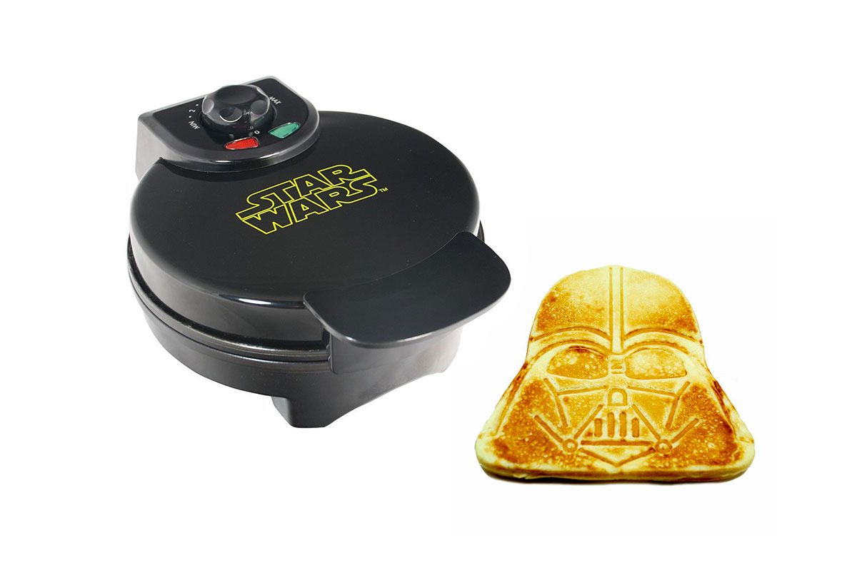Darth Vader Waffle Maker by Pangea